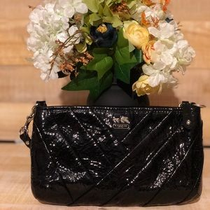 Gently loved #Coach leather wristlet
